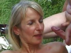 SPERMANNEKE OUTDOOR_SEX gangbang bukkake sperm orgy