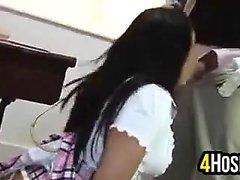 College Student von ihrem Lehrer gefickt