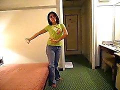 Lily, philippinischen Zimmermädchen in Taiwan