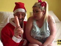 British Lip ruiskuttaa kaupungin Santa