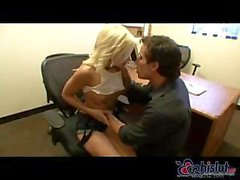 Madison Ivy shows one way of getting a raise from the boss at the office