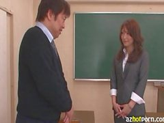 Innocent Japanese Teacher