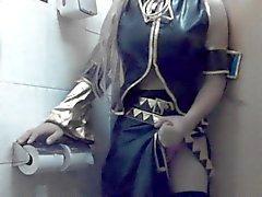 Il Giappone cosplay del incrociata dresse35