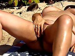 a bitch on the beach