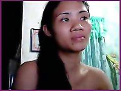Sexig lil filippinsk flicka