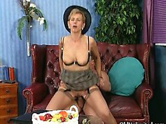 Nasty mature whore goes crazy part6
