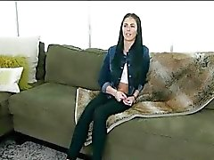 Screaming Skinny White Teen gets her first BBC