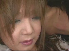 Pervert Asian babe Mizuki Ishikawa pussy licked and pounded to orgasm