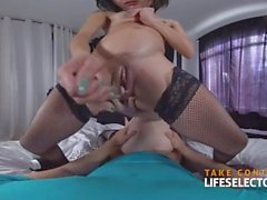 Piper and Holly - Petite Threesome