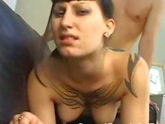 EMO Hot Punk Teen Bellarotica Sucks And Fucks POV!