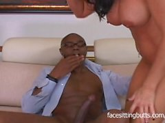 Unsatisfied mature babe makes this black stud drill her wet pussy