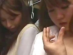 Office Lady ottenendo la sua Fica Pelosa dalle dita succhia Tirante cazzo Come arrivare del viso In Il Bus