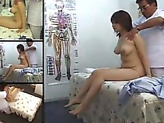 Sexy Asian brunette with tiny tits gets a happy ending in a