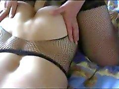 Russian vaimosi nussii aviomiehensä suuri hieromasauva