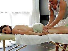 Big orb Russian gal gets a voluptuous massage