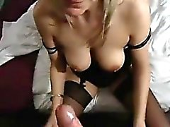 Blowjob By A Sexy Blonde Girlfriend