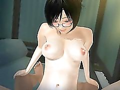 Hairy 3D pussy