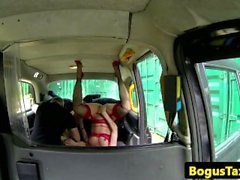 Euro sluts assfucked and asstomouth in cab