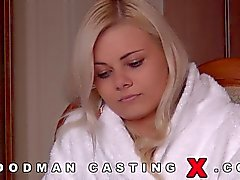 How will this babe do in her first casting?