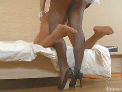 StraponCum - Strapon French Maid