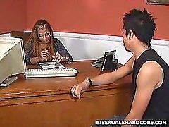 Bissexual O sexo de escritório