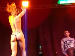 Miss Kendra - Muscular fit woman show - Eropolis Nice France 2013-02-10