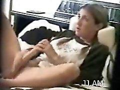 Hotty bir yapay penis ile yakaladı