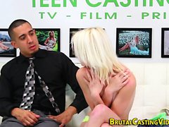 Sub teen gets fingered
