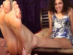 Ruukut suuri seksikkäitä egyptiläisestä jalat yksin palvoa .