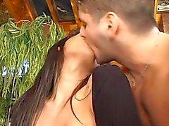 сексуальная аргентинские брюнет синицы буфера