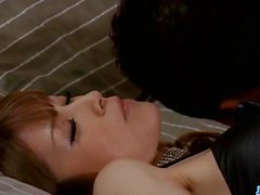 Japanese doll Yuria amazes with her tight pussy