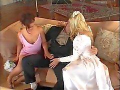 Bride ottenere una ragazza e tirante cazzo