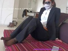 Chinese Feet Licking Office Lady 02