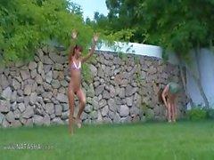 России девочек водного спорта в саду