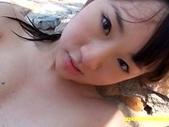Jav Amateur Arisa Mirai Teases On The Beach Very Cute