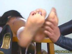 jasmine shy tickled