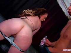 PURE XXX FILMS Blue eyes and a pink pussy
