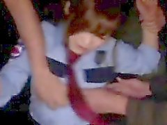 Rina Ishihara has to suck and rub cocks