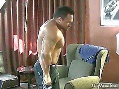 Gaystraight lihaksen amatööri- assfingered