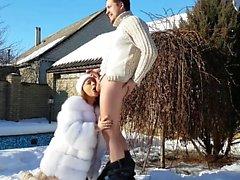 Winter Creampie hausgemachte