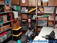 Fucked teen shoplifter