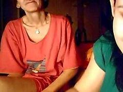 Webcam Mit ihrer Granny