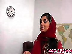 Horny Arab Teacher interracial