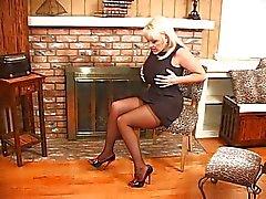 Kandi Cox busty en kvinna show