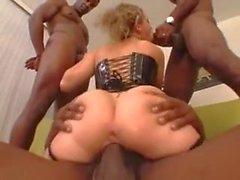 White Chicks Big Black Dick Gangbang 2