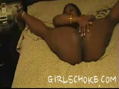 chocolate dream all tied up by her man