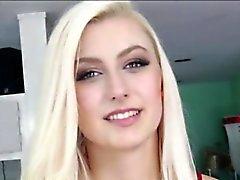 Verkossa Alexa kiimaiset blondie Teen saat Creampied