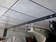 Toilet spycam