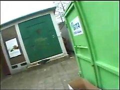 Public outdoor blowjob videos