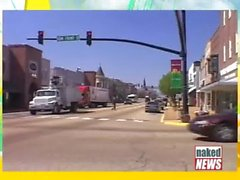 Naked News - Whitney St.John (Yellow Pants) 2013-07-25